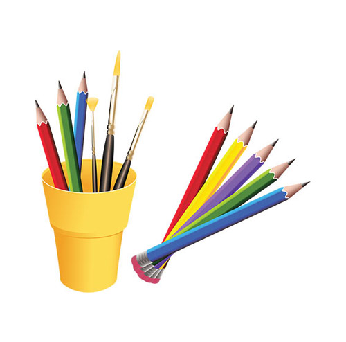 Colour Pencils - PNG image with transparent background