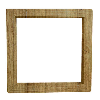 Wooden Photo Frame - PNG image with transparent background