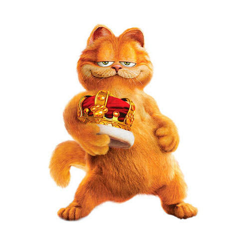 Garfield the Cat - PNG image with transparent background