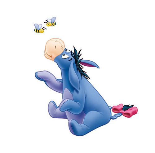 Eeyore Cartoon Character Winnie the Pooh - PNG image with transparent