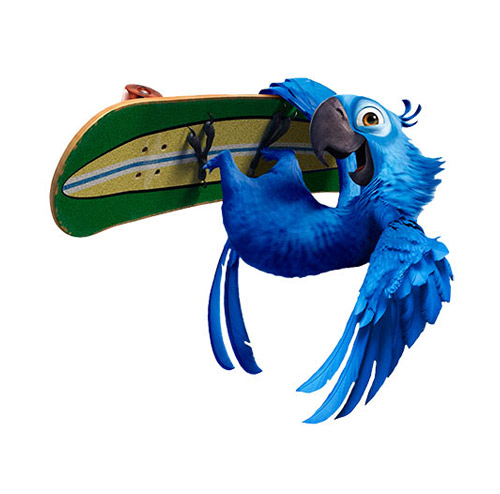 Rio Cartoon Character - PNG image with transparent background