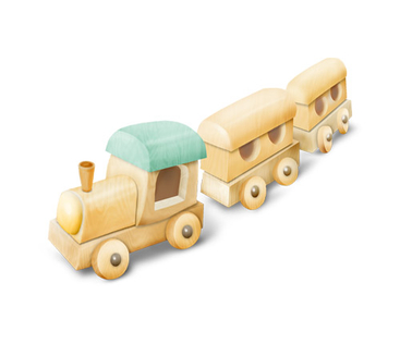 Toy Train - PNG image with transparent background