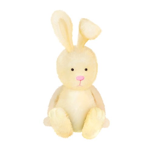 Rabbit Yellow - PNG image with transparent background
