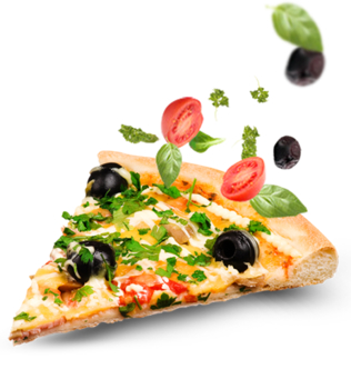 Slice of Pizza - PNG image with transparent background