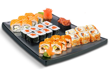 Sushi and Rolls - PNG image with transparent background