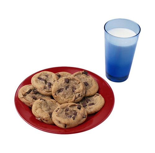 Milk and Cookies - PNG image with transparent background