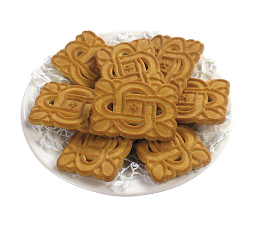 Cookies on a Plate - PNG image with transparent background