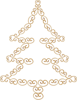 Christmas Tree - PNG image with transparent background