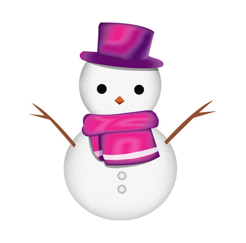 Snowman with Hat - PNG image with transparent background
